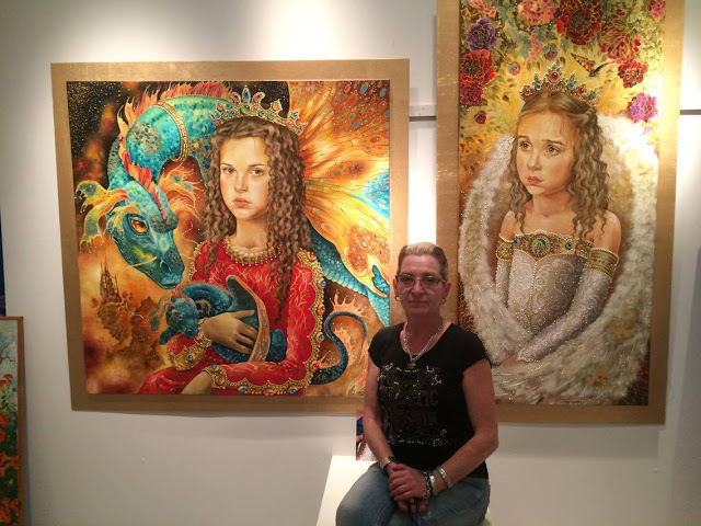Η μαγευτική έκθεση ζωγραφικής της Ελένης Τοργασόβα στην ΕΚΑΒΗ! – c0a258f49c0