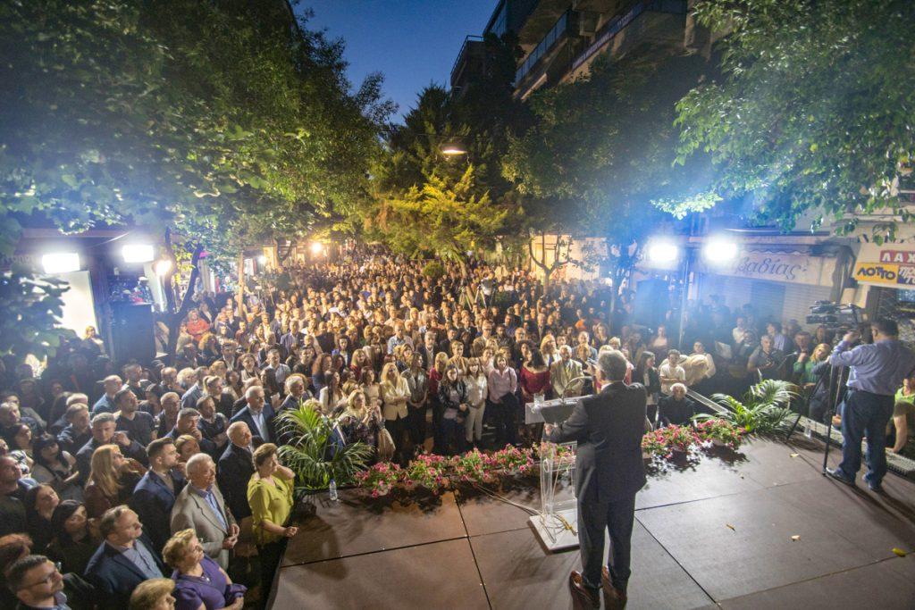 Νταντάμης: «Πάμε δυνατά για τη Νίκη, για τον Δήμο Κατερίνης που μας αξίζει