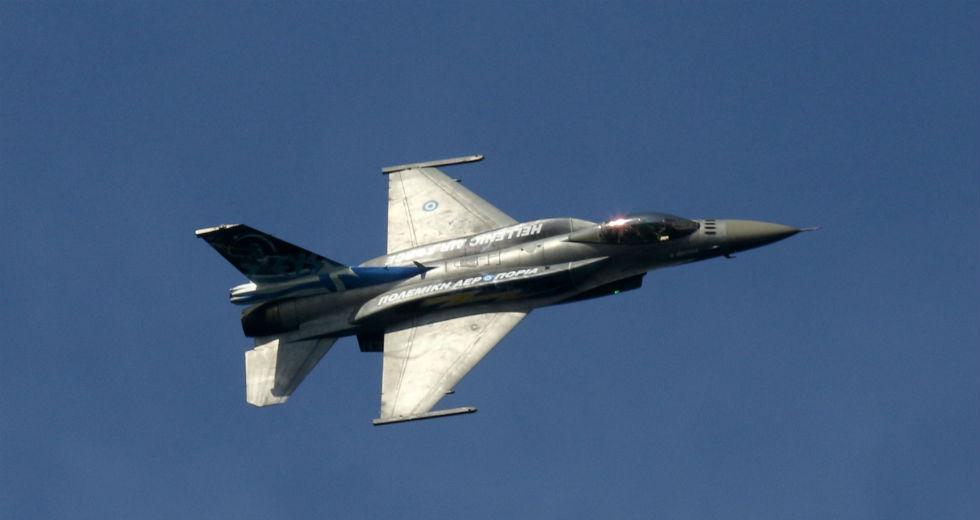 Πρώτη πτήση ελληνικού F16 πάνω από τη Βόρεια Μακεδονία